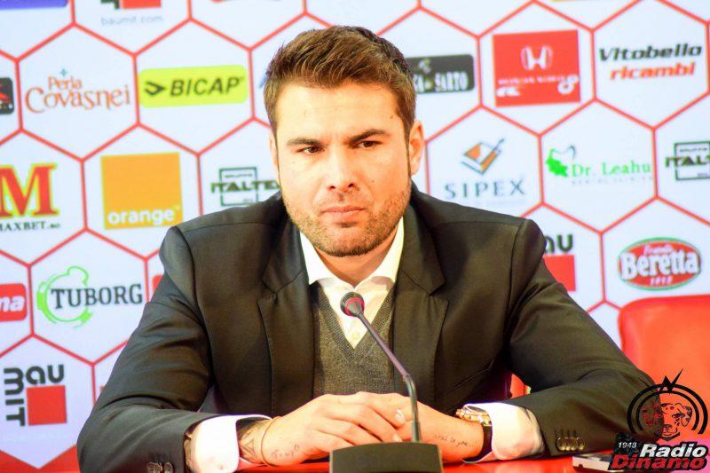 Presedintele clubului Dinamo, Adrian Mutu