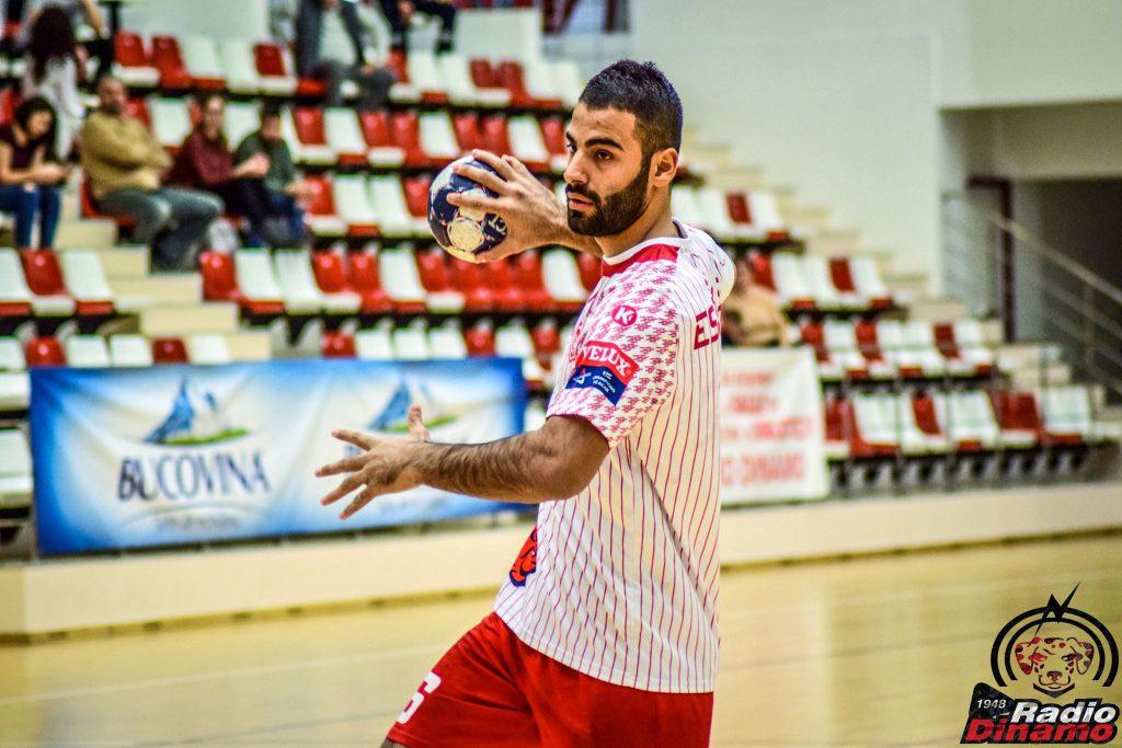 Sajad Esteki Handbal Dinamo