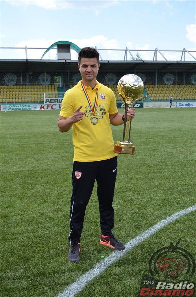 Florin Bratu antrenor U19