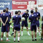 GALERIE FOTO: Antrenamentul oficial al lui Bilbao pe Arena Nationala