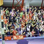 FOTO si VIDEO: Atmosfera superba creata de fanii dinamovisti in sala Dinamo