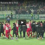 VIDEO EXCLUSIV: Bucuria de la final cu Miriuta, Danciulescu si jucatorii!