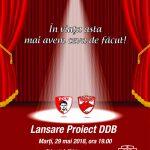 Eveniment de gala la lansarea proiectului DDB! Comunicat emis de PCH