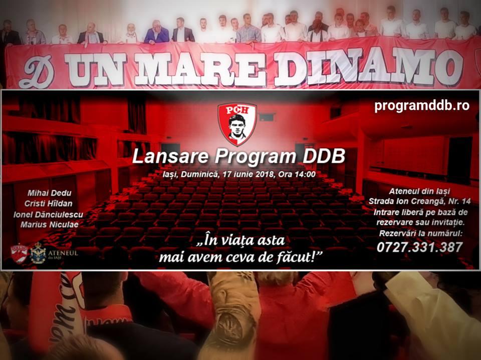 lansare DDB iasi