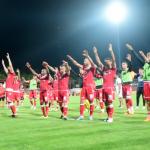 VIDEO: Familia Dinamo la finalul meciului castigat cu 2-1