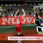 VIDEO: Mesajul lui Dan Nistor pentru rivali