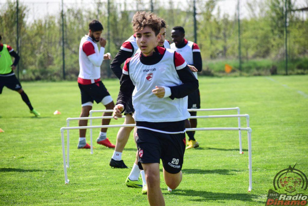 Juniori Dinamo antrenament