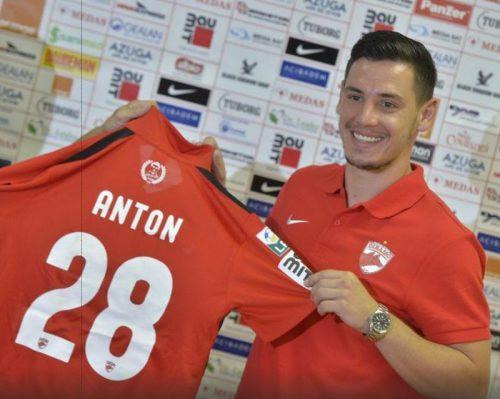 Paul Anton prezentare la Dinamo