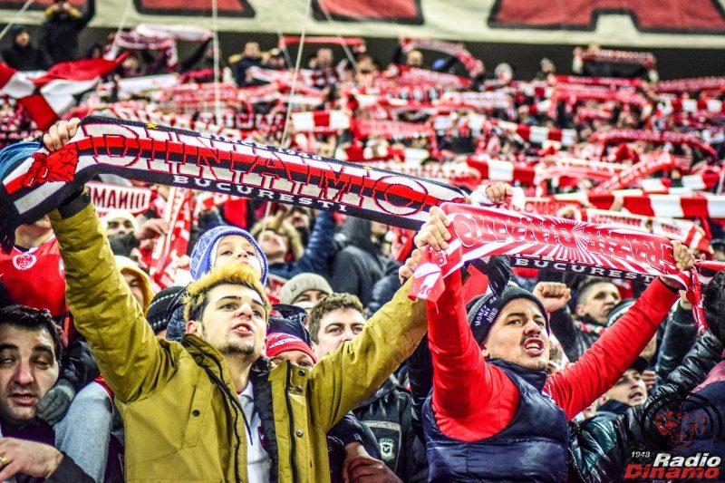 Dinamo-Steaua suporteri