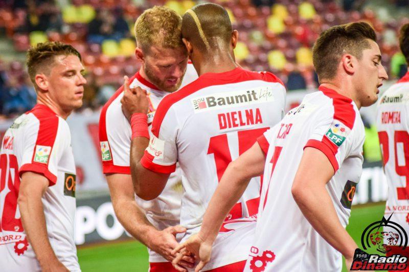 Dinamo-Cfr Cluj: 2-0