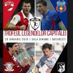 Trofeul Legendelor Capitalei: Ce jucatori vor evolua pentru Dinamo!